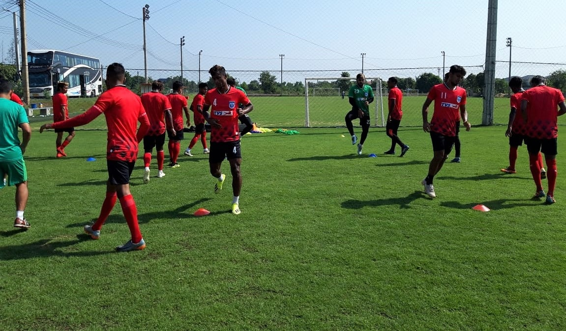 Bangladesh begin training in Thailand