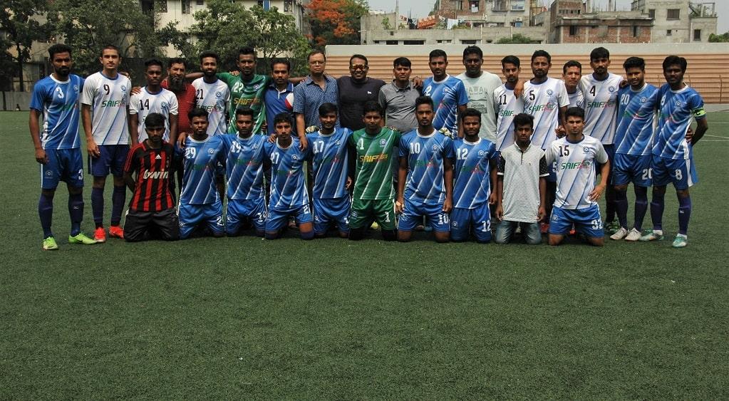 Uttar Baridhara thrash Agrani Bank 4-1; Swadhinata beat T&T 2-1