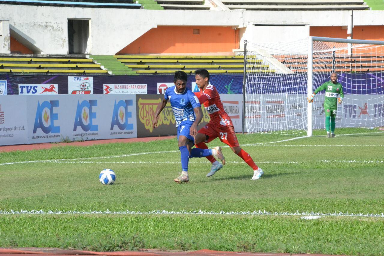 Sheikh Russel Krira Chakra and Bangladesh Muktijoddha Sangsad Krira Chakra  draws the match