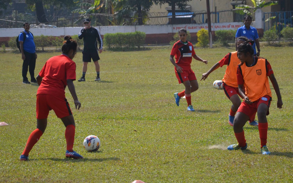 Girls kick off practice in Nepal ahead of SAFF Women's Championship 2019