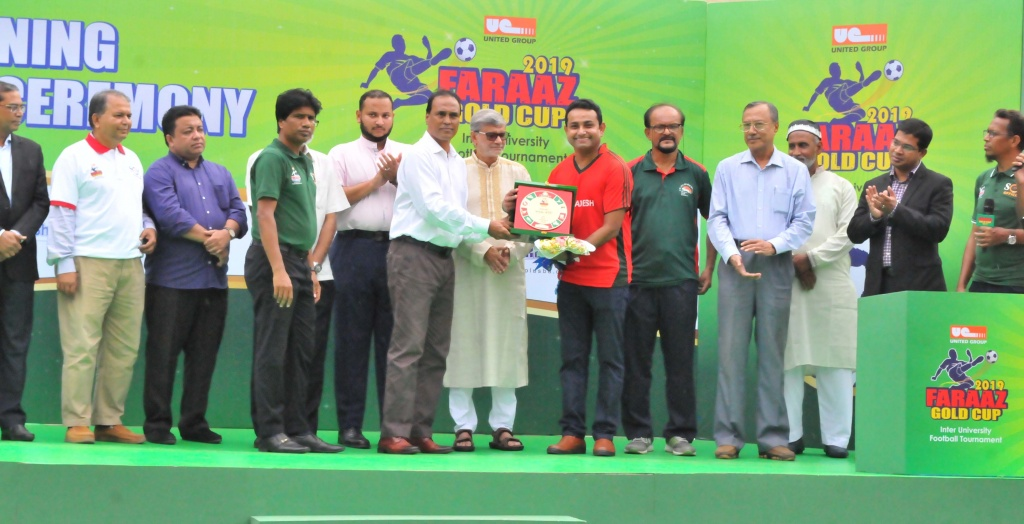 """Opening Ceremony of """"FARAAZ Gold Cup"""""""