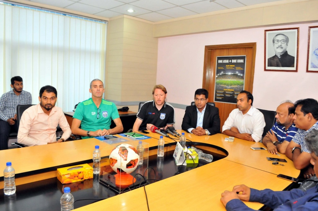 National Teams Committee meeting regarding the upcoming FIFA WC 2022 Qualifiers Matches