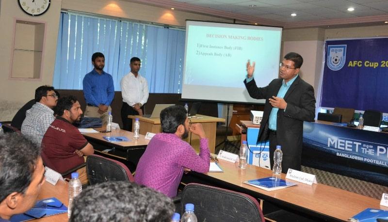 Club licensing workshop held