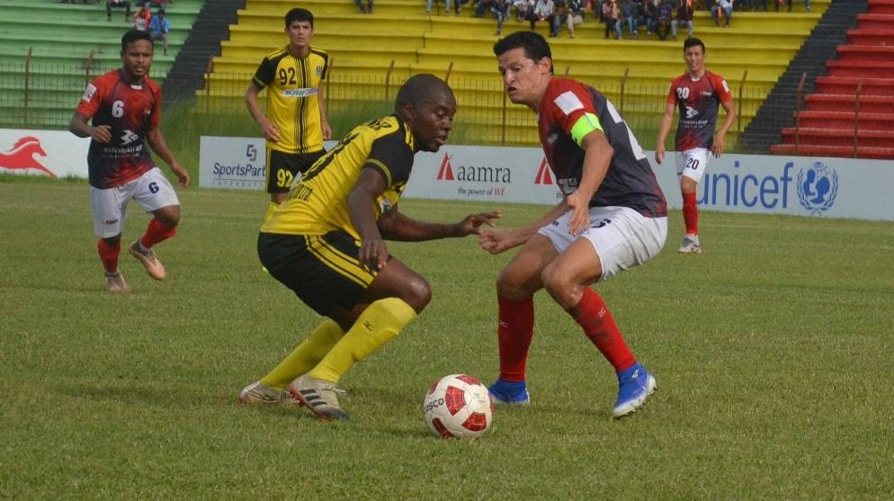 Bashundhara back on track beating Saif 2-0