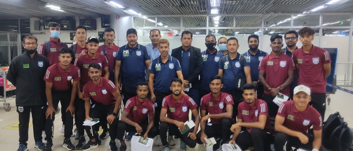 Bangladesh U-23 national football team left for Uzbekistan