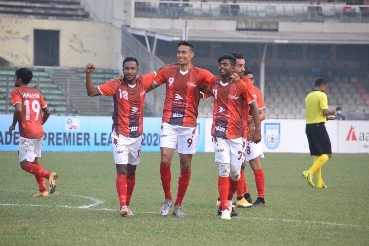 Bashundhara Kings kickstarts BPL 2021 by a victory