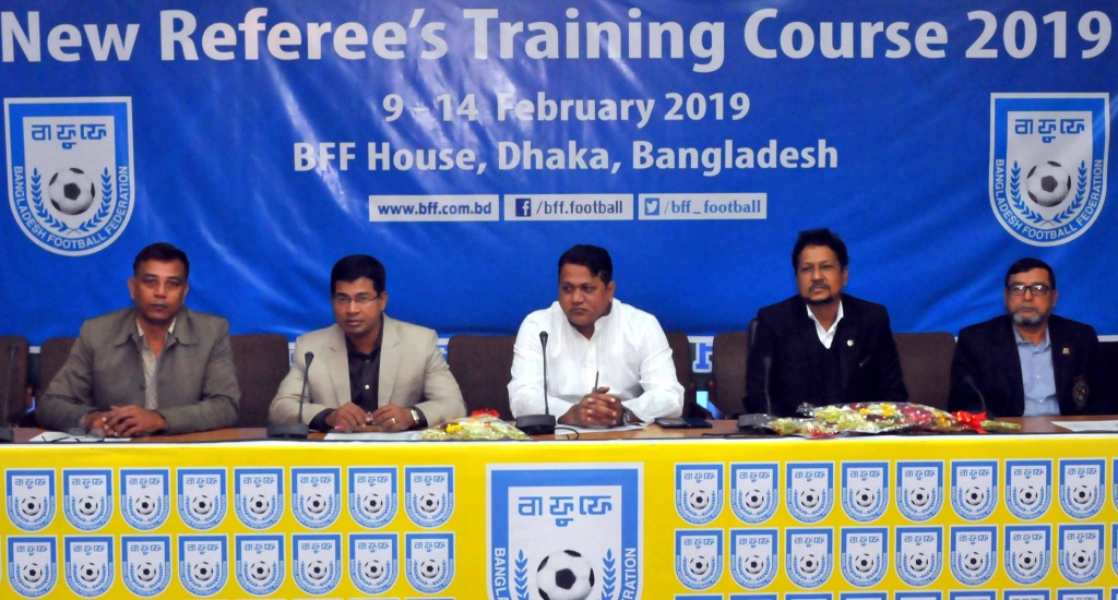 Referees' Training Course – 2019 begins