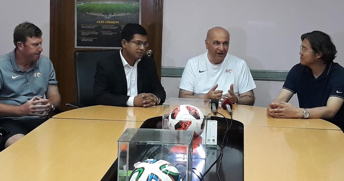 AFC delegates praise BFF's technical department