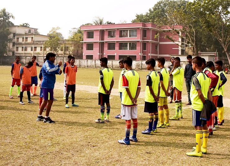 BFF Academy U-15 and U-18 trials held in Lalmonirhat, Barguna