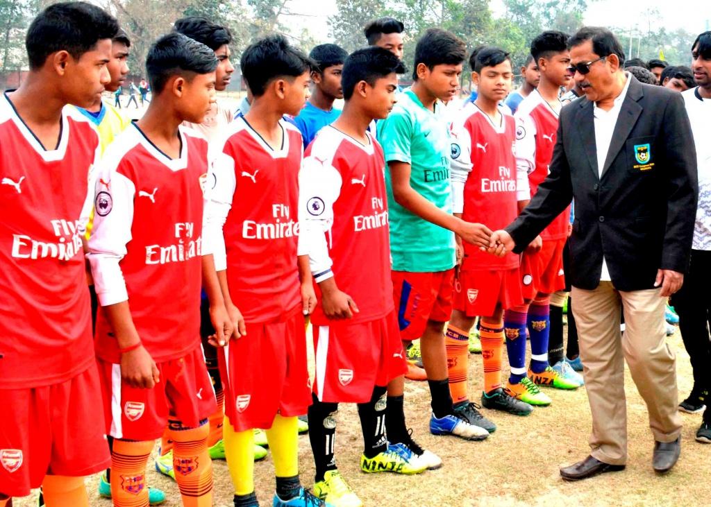 U15, U18 talent hunt programme held in Dinajpur