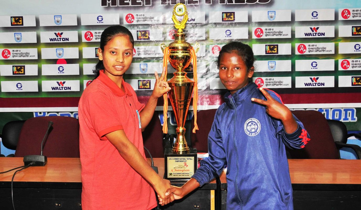 Mymensingh, Thakurgaon all set for JFA U-14 Cup final