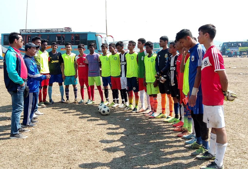 U15, U18 talent hunt programme held in Thakurgaon, Cox's and Bandarban