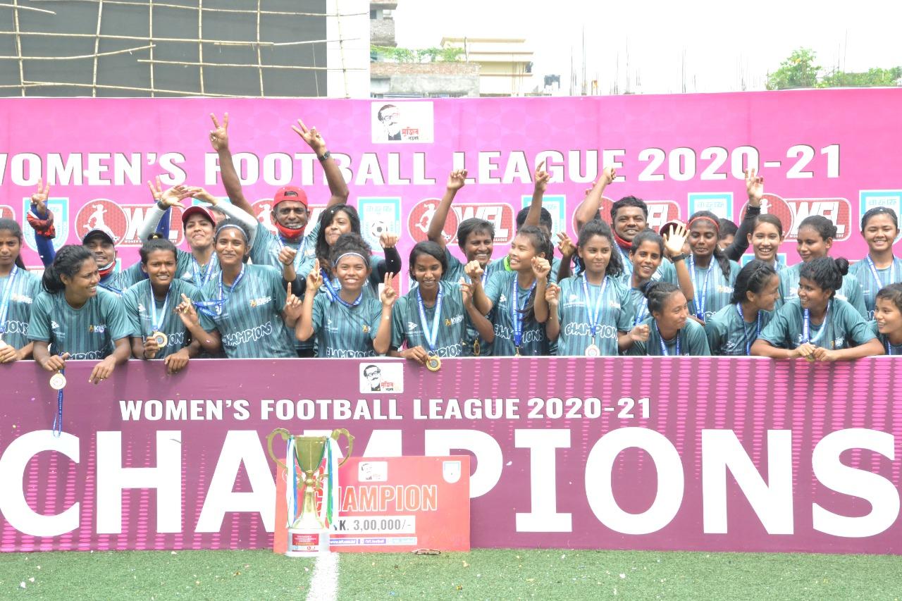 Bashndhara Kings Won the WFL 2020-21 Championship title!