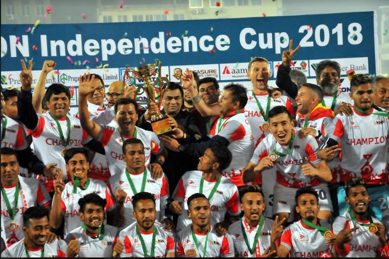 Bashundhara Kings clench on to maiden Independence Cup title