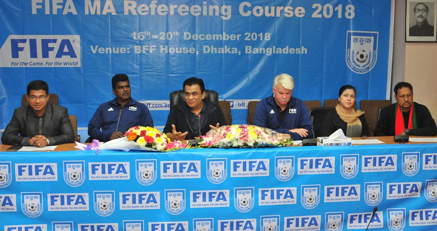 FIFA MA Refereeing Course 2018 begins