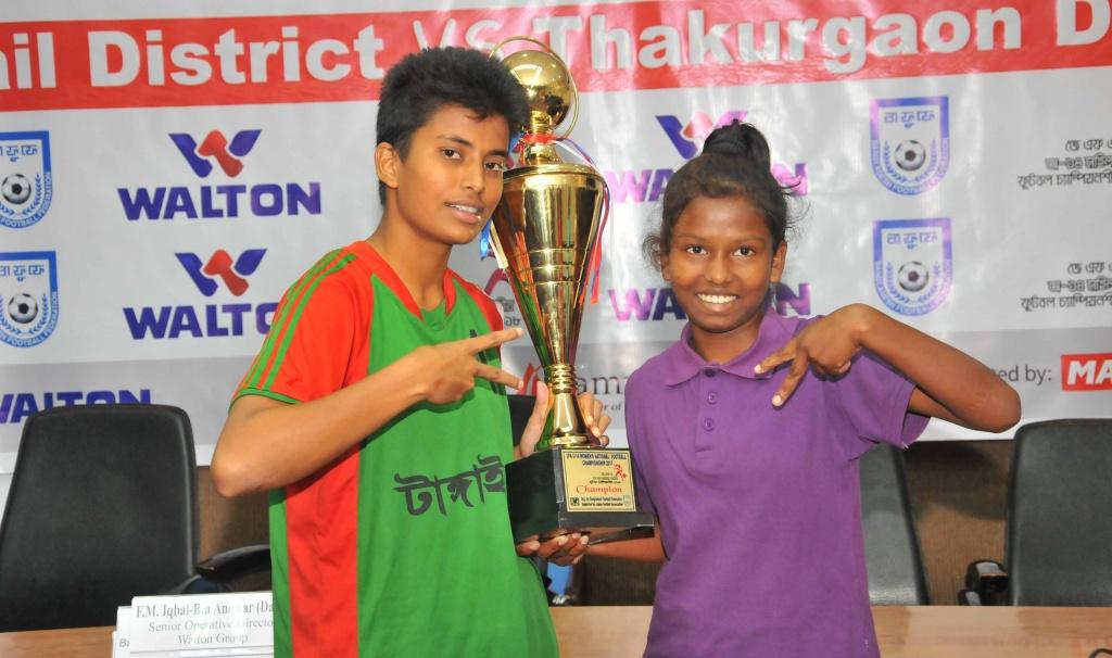 JFA U14: Tangail Vs Thakurgaon final tomorrow