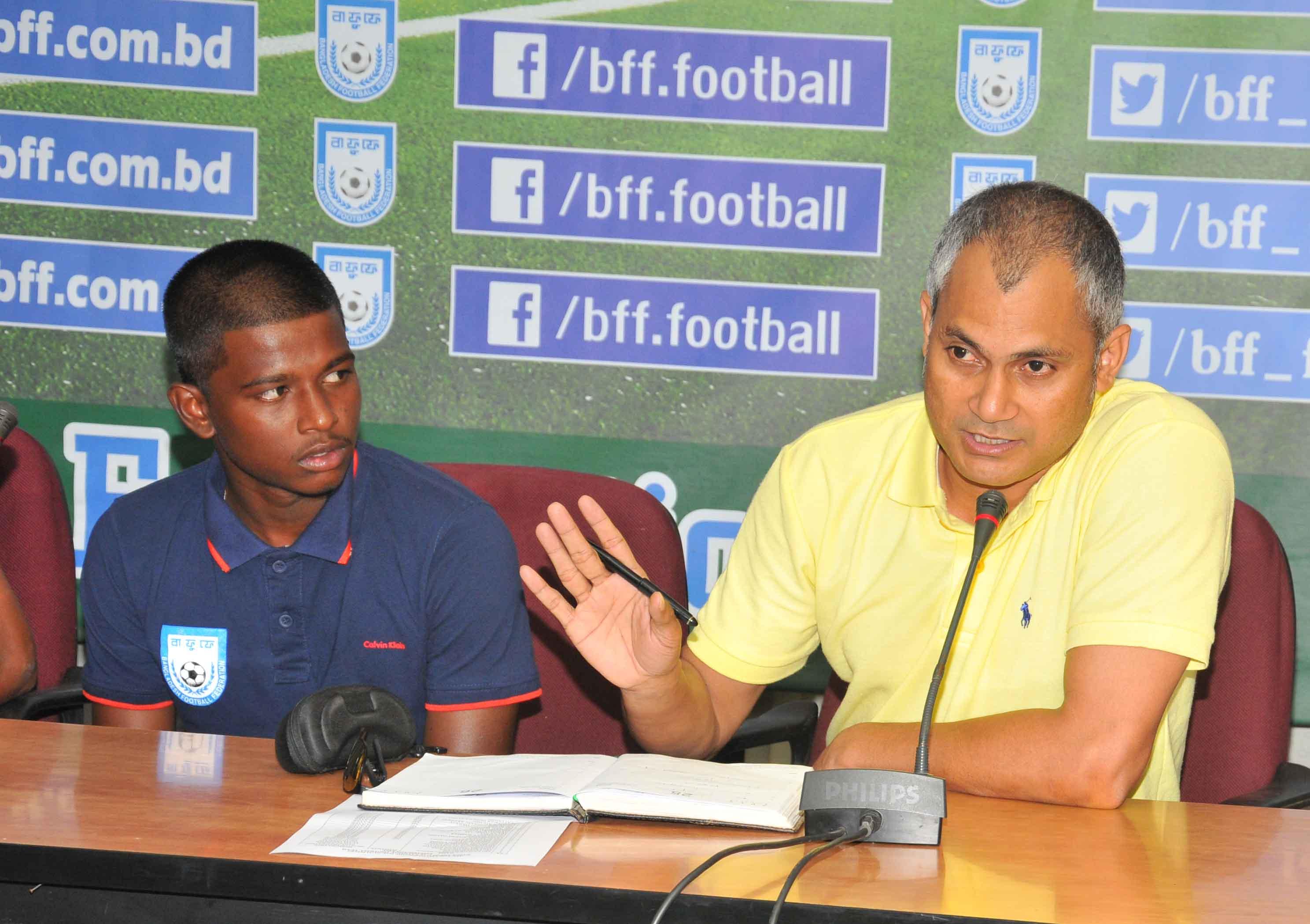 U16 boys ready for AFC championship qualifier opener