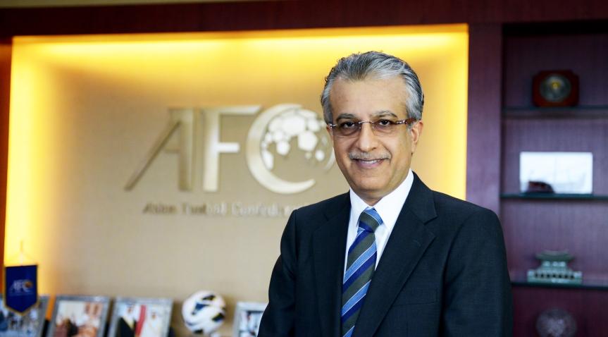 AFC President in Dhaka
