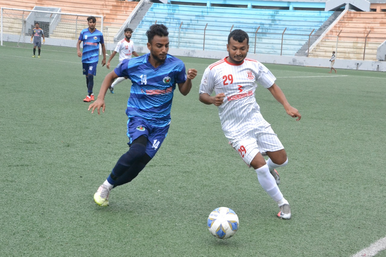 Shadhinota Krira Shangha and Wari Club, Dhaka draws the match