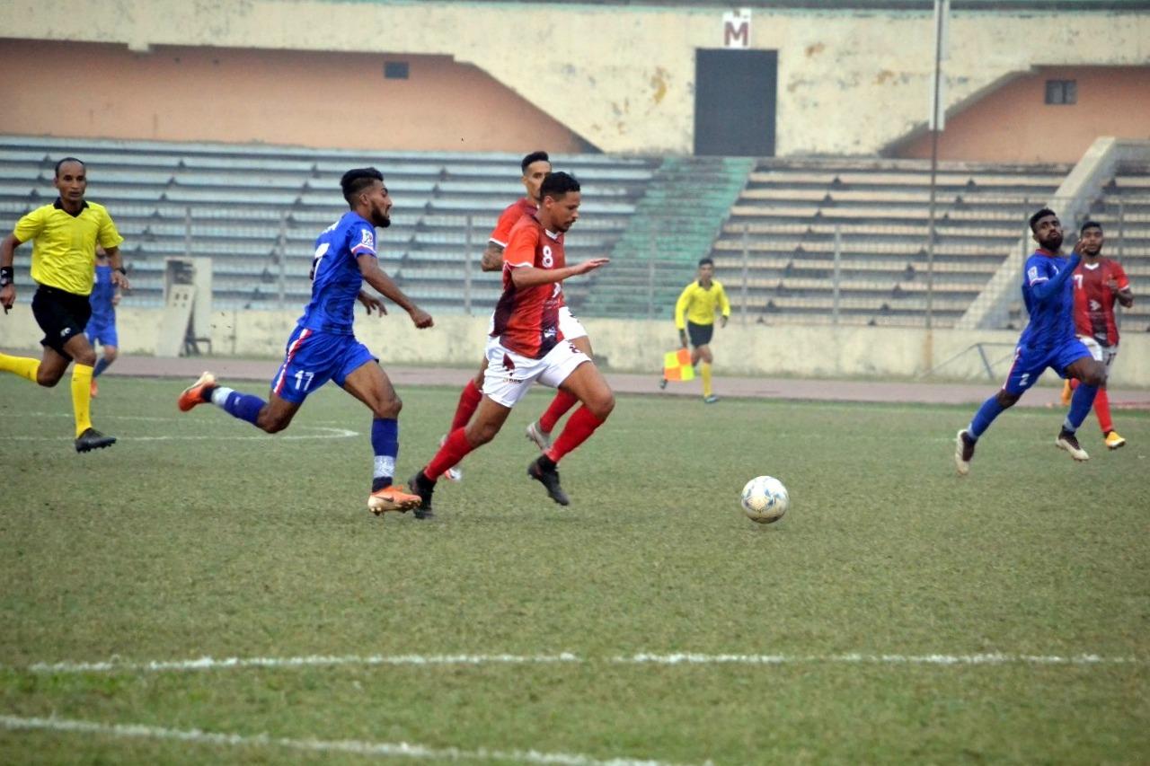 Bashundhara Kings triumphs over Bangladesh Police FC