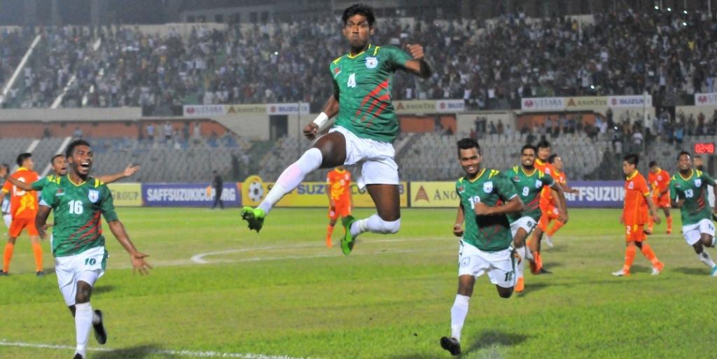 BD off to winning start in SAFF beating Bhutan 2-0
