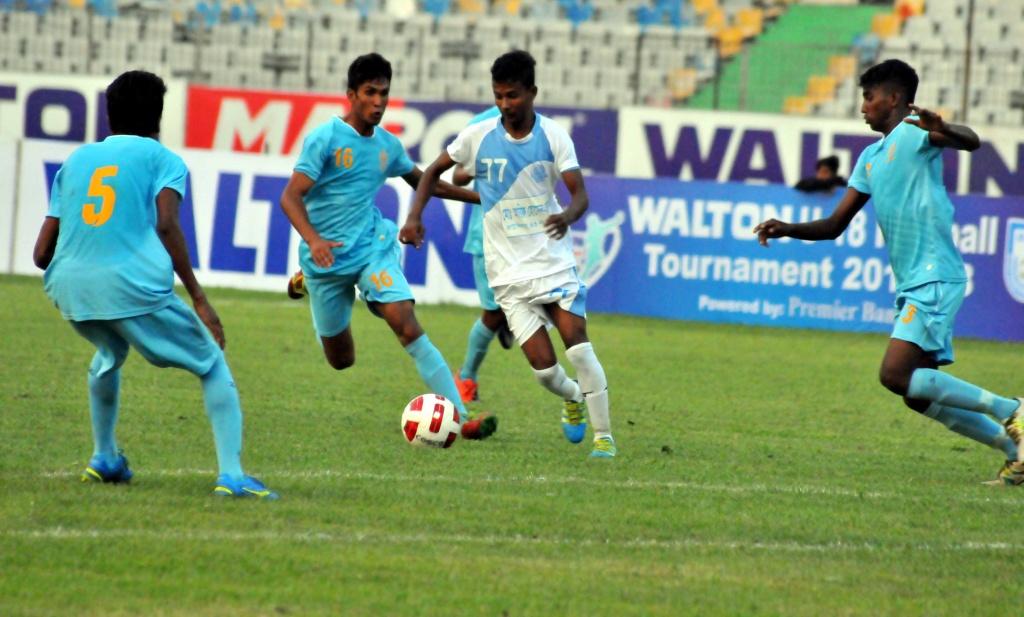Dhaka Abahani declared winners of clash against Farashganj