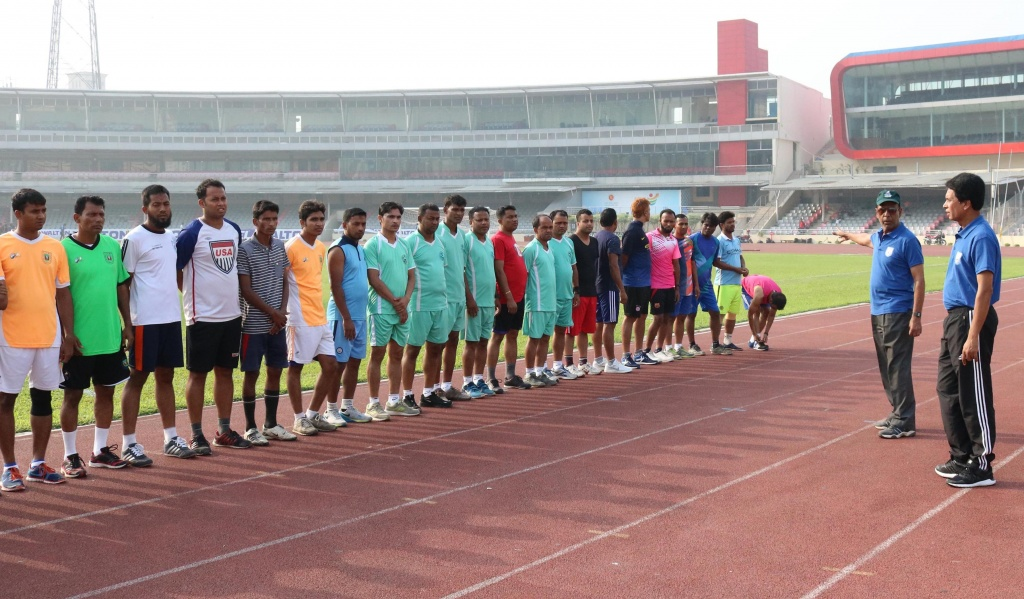 Referees' promotion test held