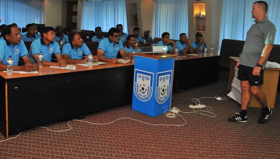 AFC GK Level 1 Coaching Course 2019 commences