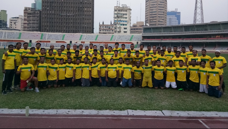 Quarterly Fitness Test of referees held