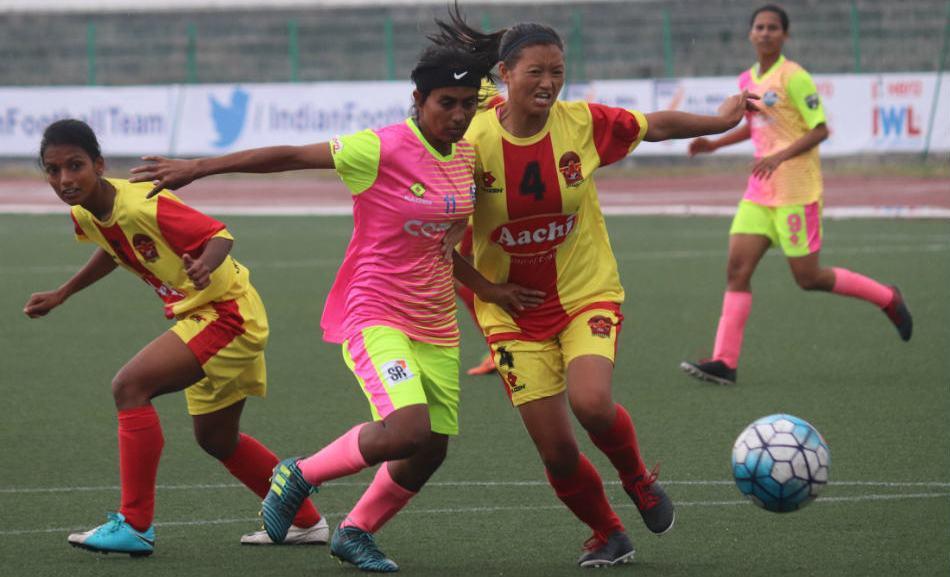 Sabina lighting up Indian Women's League