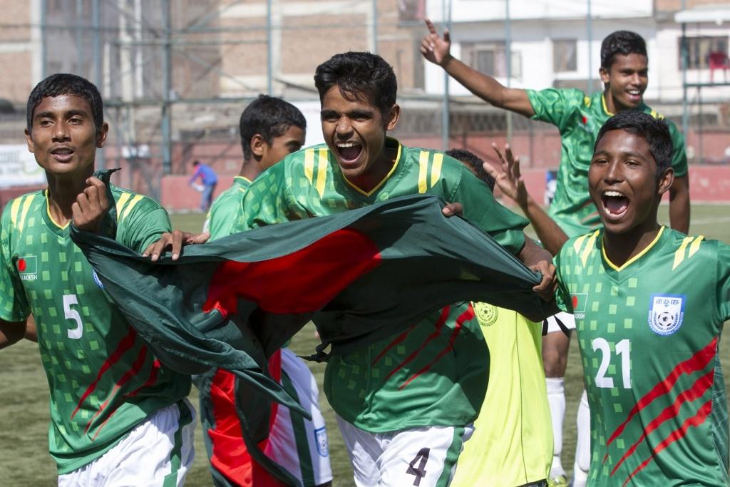 SAFF U15: Bangladesh in final beating India