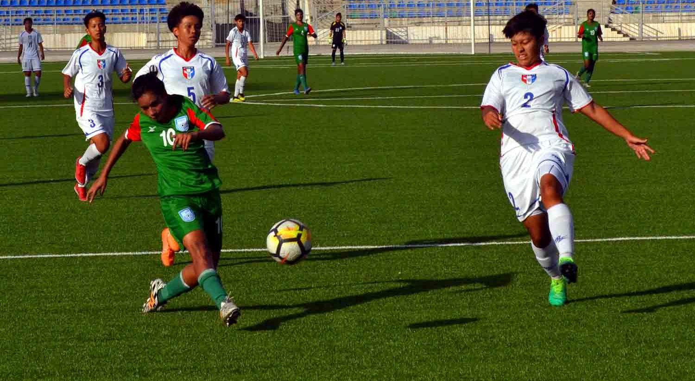 U19 girls go down 2-0 in tight C. Taipei clash
