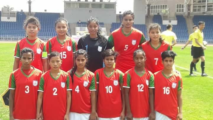 U15 girls off to flying start, thrash Malaysia 10-1