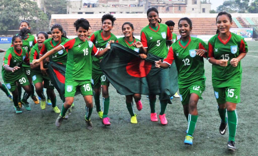 Bangladesh U-15 girls off to Hong Kong, press meet tomorrow