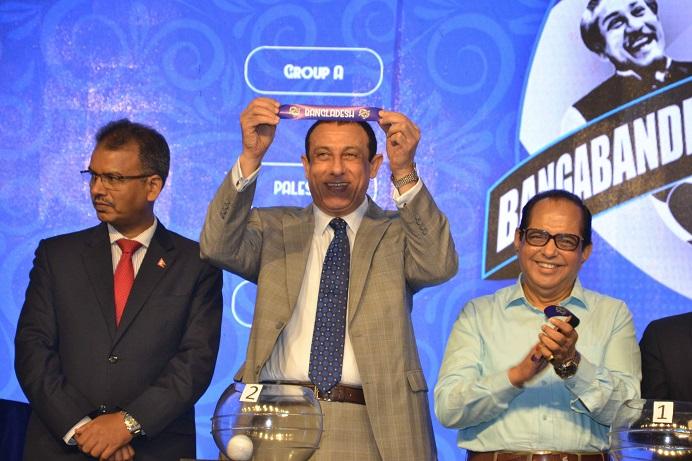 Bangabandhu Gold Cup draw held