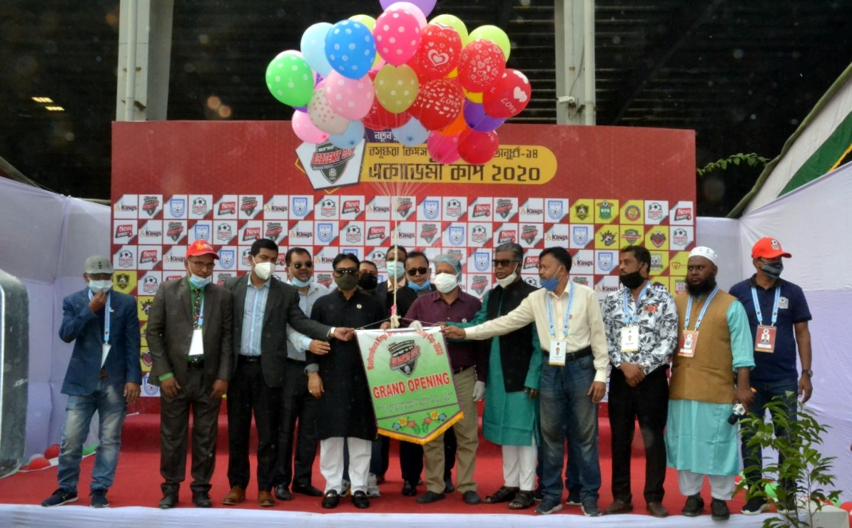 Opening Ceremony of 'Bashundhara Kings BFSF U-14 Academy Cup 2020'