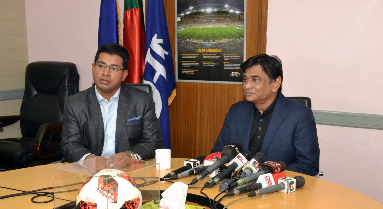 BFF Honorable President's views on upcoming matches of National Football Team