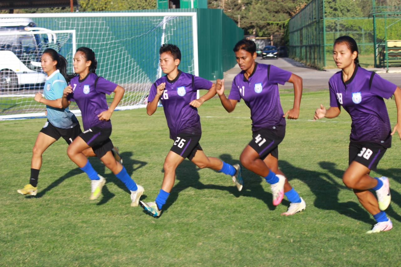 National women's team prepares for 'AFC Women's Asian Cup India 2022 Qualifiers' round