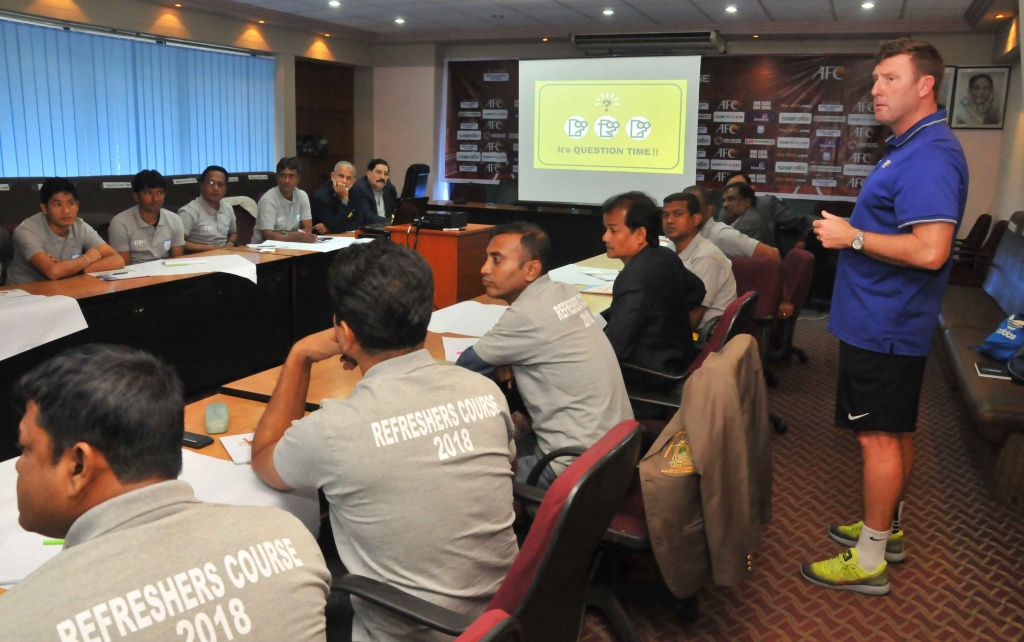 Over 50 'C' Certificate coaches take refresher course