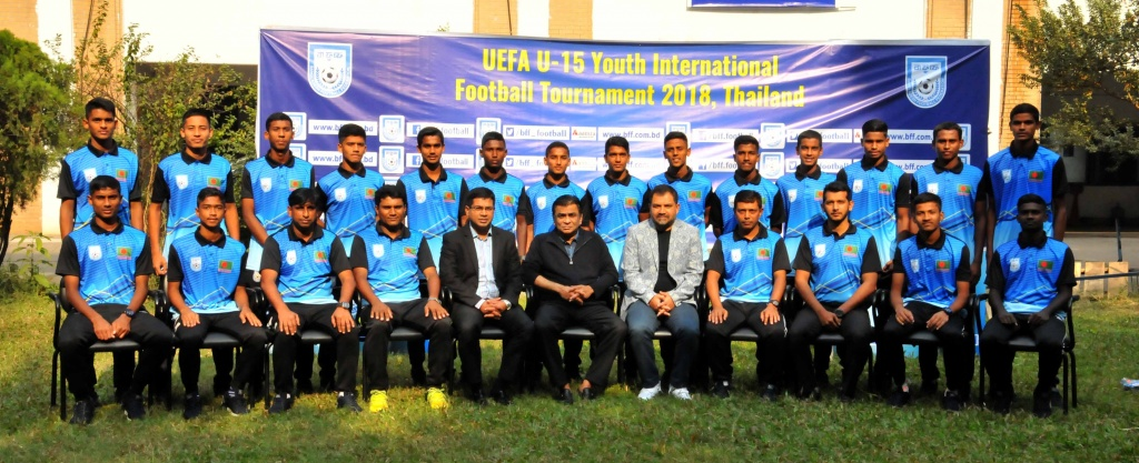 U15 boys meet BFF president ahead of Thailand tour