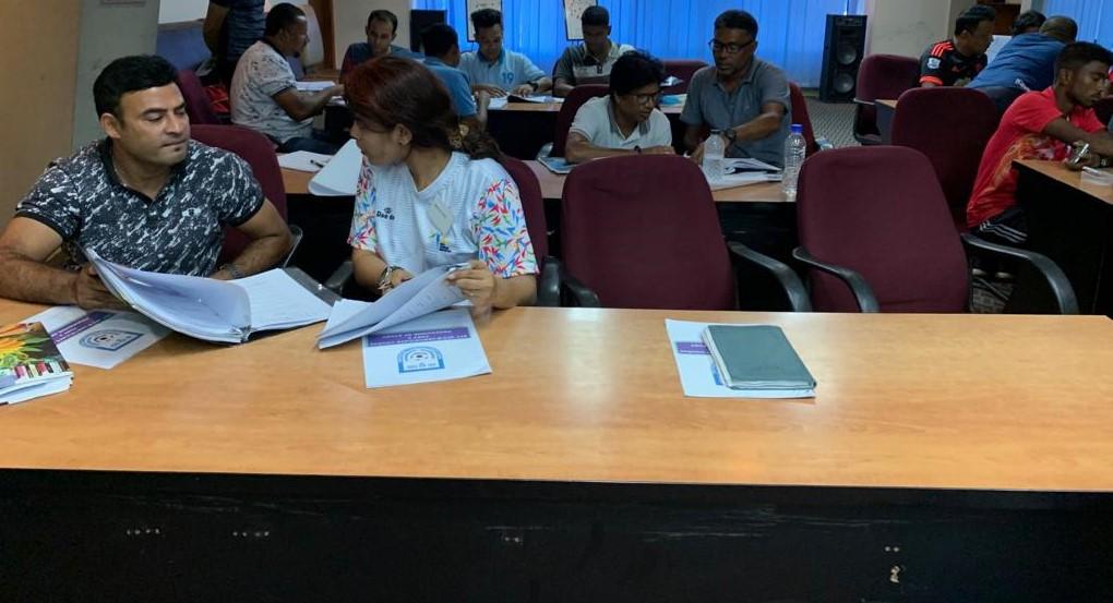 BFF AFC B Certificate Coaching Course begins
