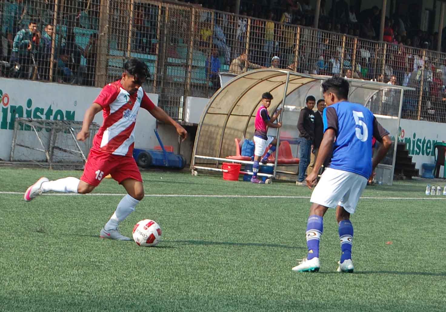 Press meet of Saif PB 3rd Division Football League Sunday