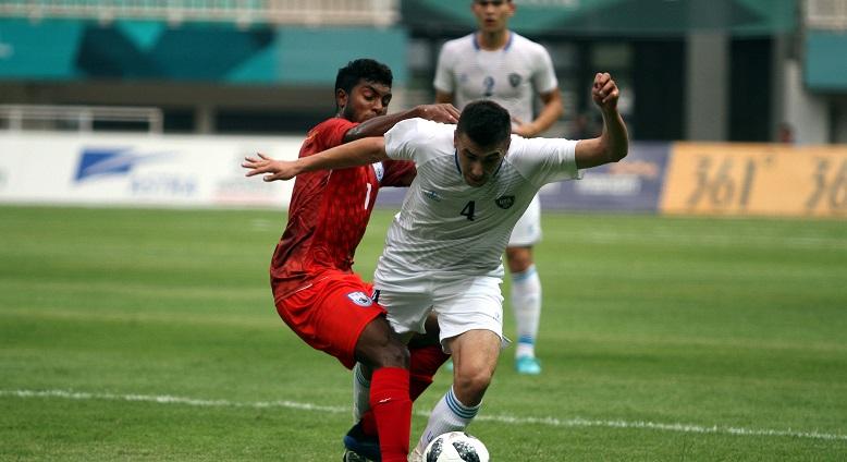 Bangladesh go down 3-0 to Uzbekistan