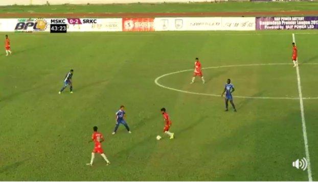 Ctg Abahoni beat Farashganj 2-0