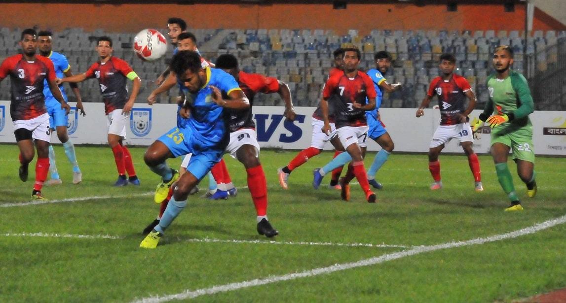 Abahani suffer 1-0 defeat against Bashundhara Kings