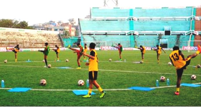 33 U16 boys to join training camp