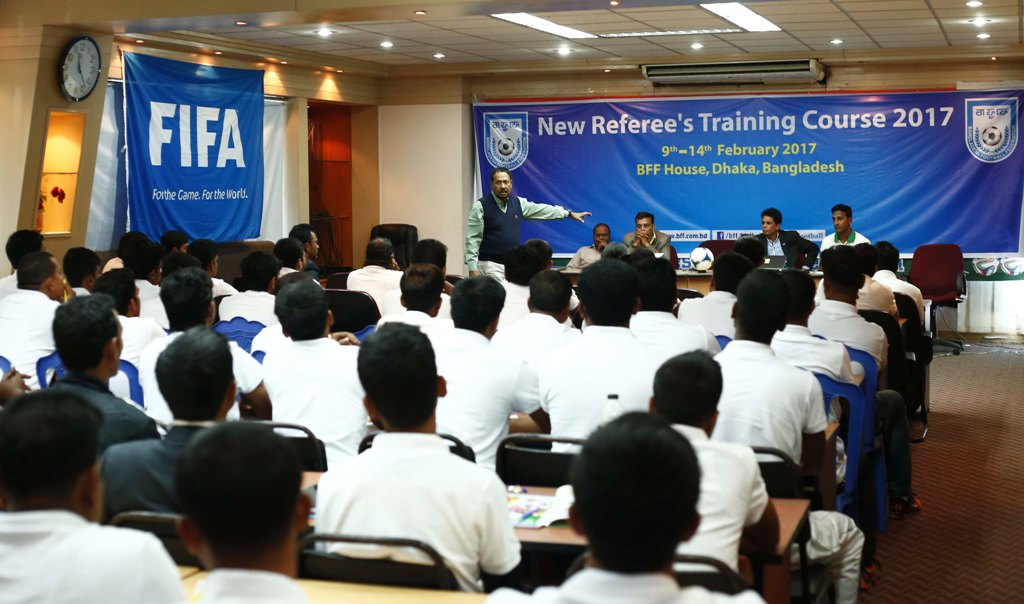 New Referee Training Course to be started from February 9