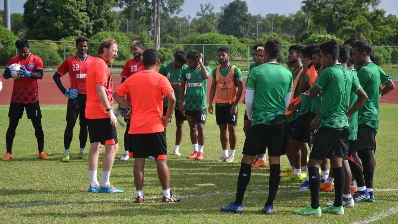 Bangladesh begin training in Laos