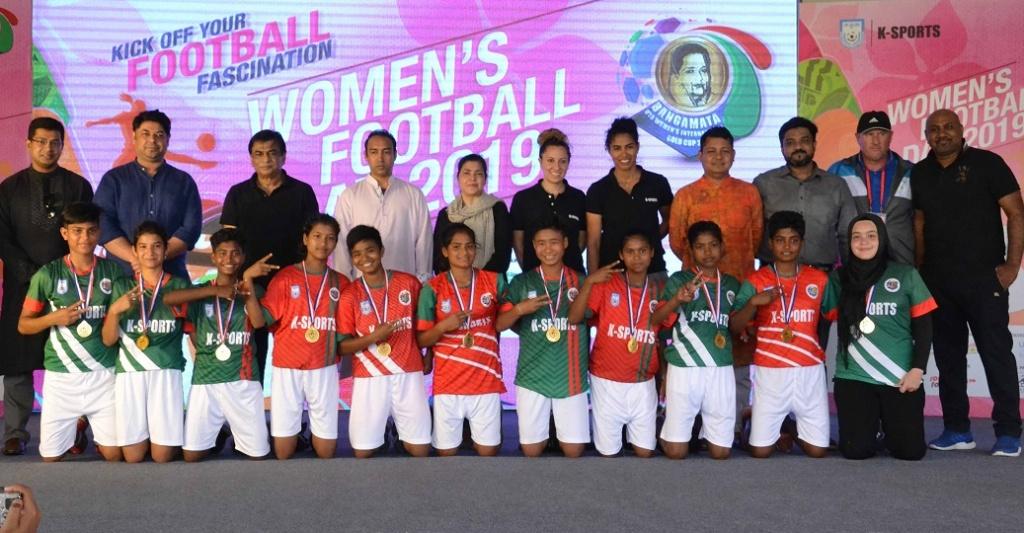 Women's Football Day 2019 held