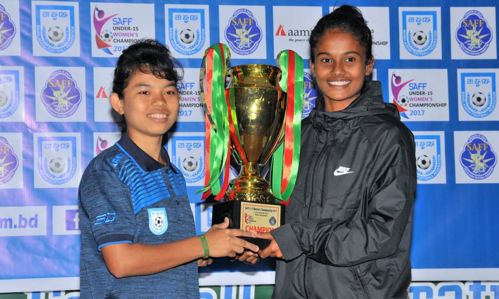 SAFF U15 Women's Championship: All set for an exciting final